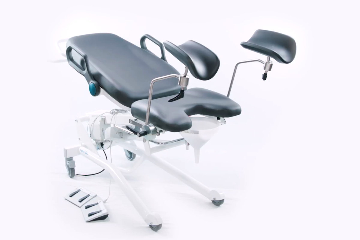 Reclined medical chair